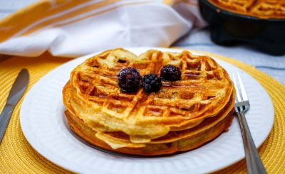 The Super Easy Waffle Recipe