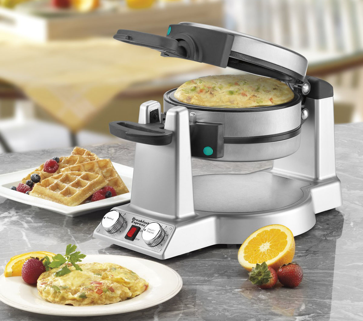 Waring WMR300 Belgian Waffle and Omelet Maker Review