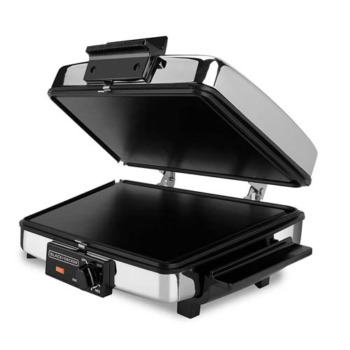 Black and Decker G48TD 3-in-1 Waffle Maker